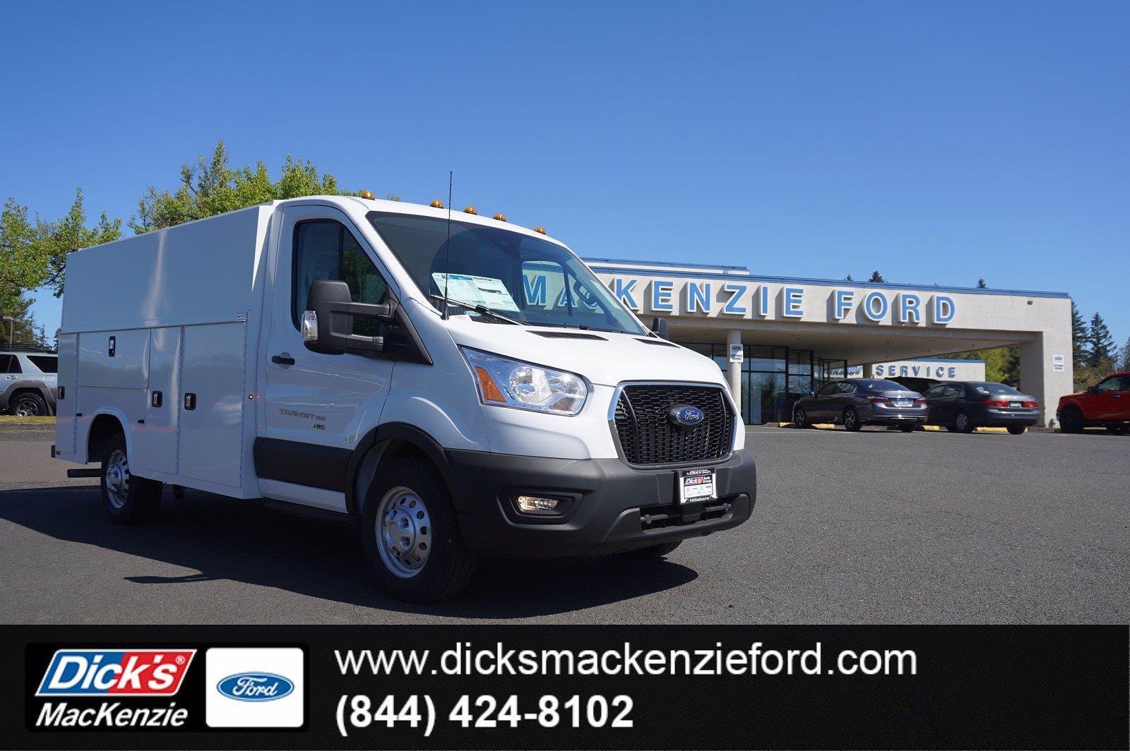 2021 Ford Transit 350 AWD, Knapheide Service Utility Van #218315 - photo 1