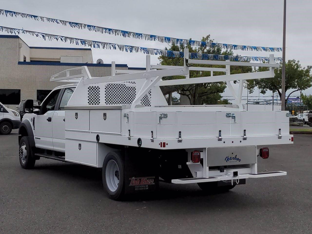 2021 Ford F-550 Crew Cab DRW 4x4, Harbor Contractor Body #219464 - photo 1