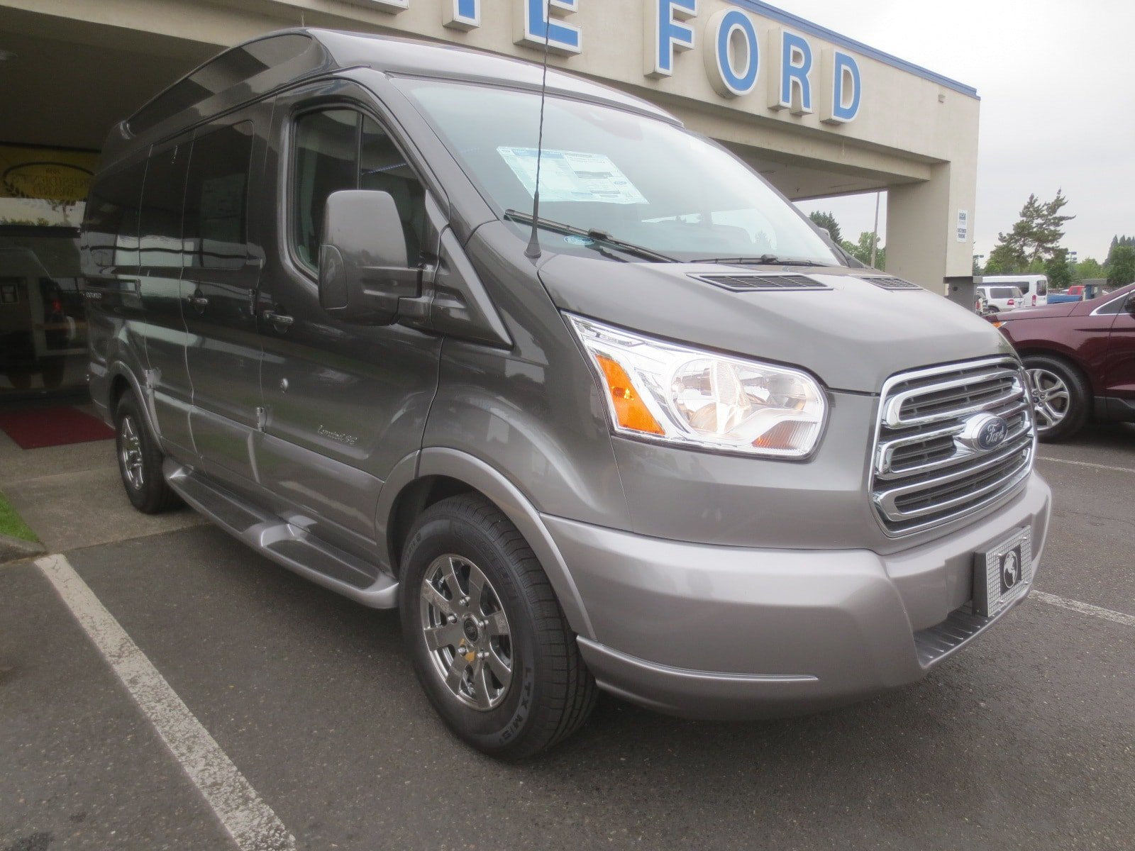 2017 Transit 150 Low Roof 4x2,  Passenger Wagon #278740 - photo 2