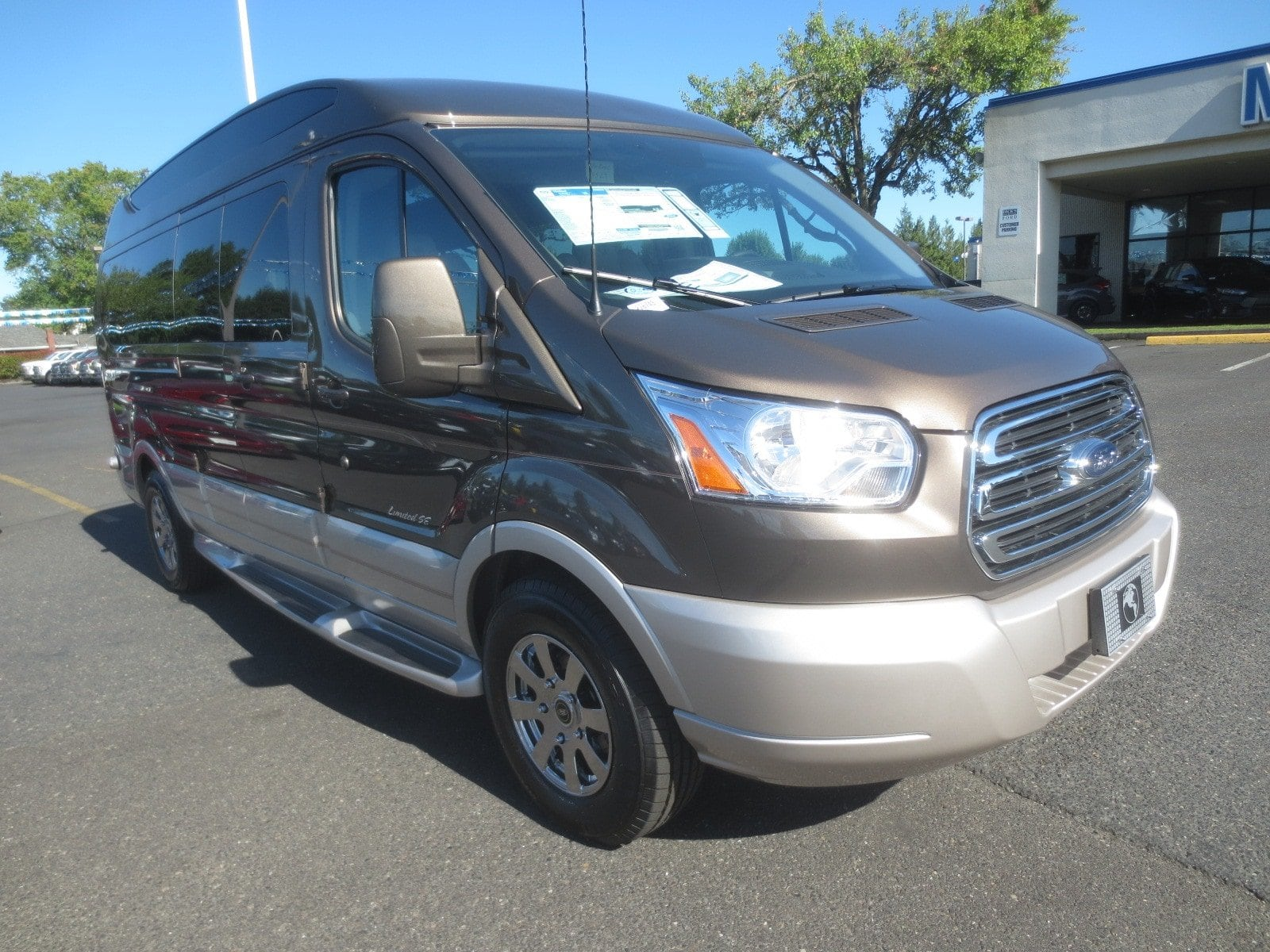 2017 Transit 150 Low Roof 4x2,  Passenger Wagon #278743 - photo 2