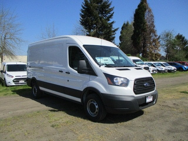 2018 Transit 250 Med Roof 4x2,  Empty Cargo Van #288313 - photo 3