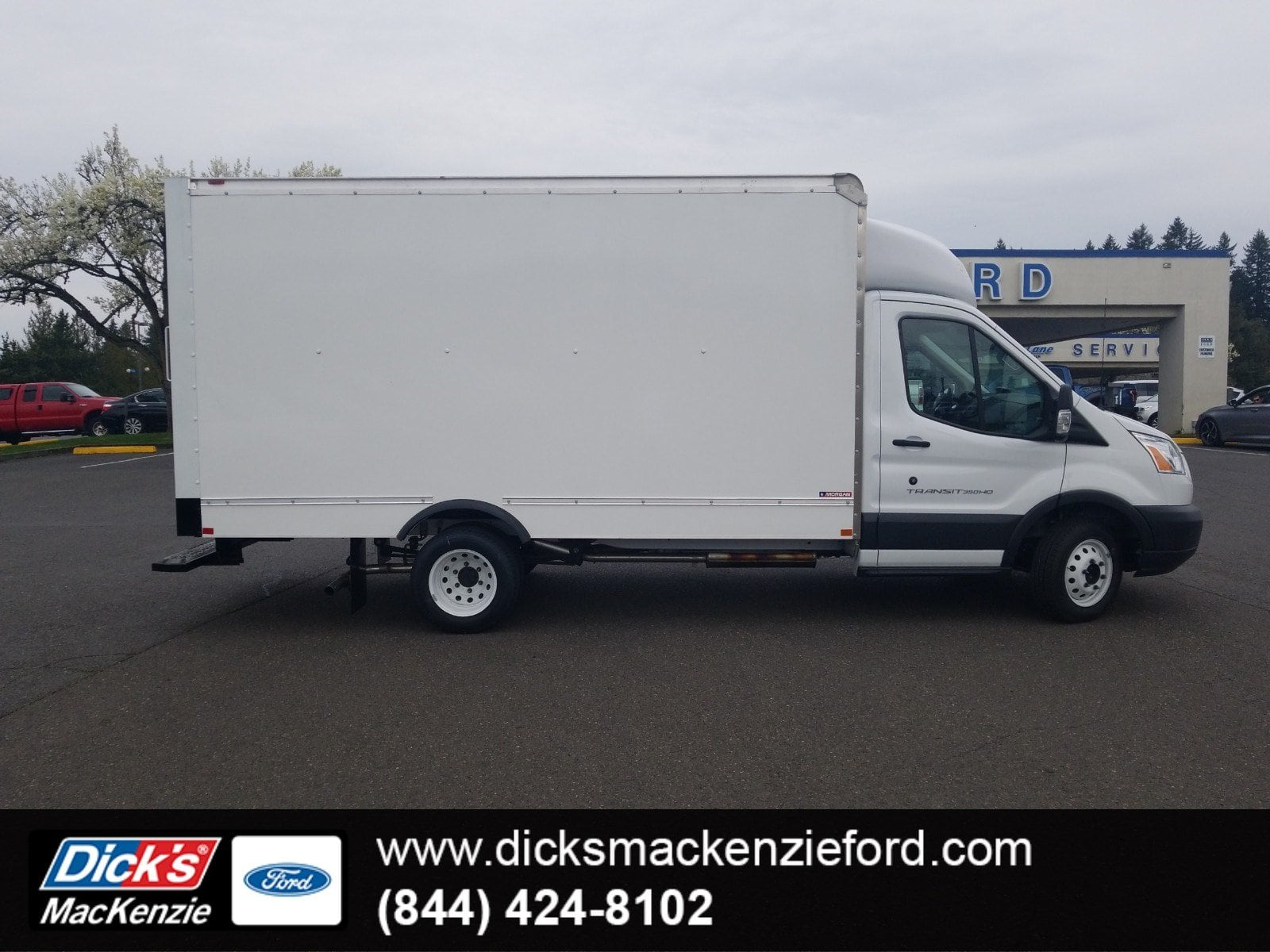 2018 Transit 350 HD DRW 4x2,  Morgan Mini-Mover Cutaway Van #288339 - photo 1