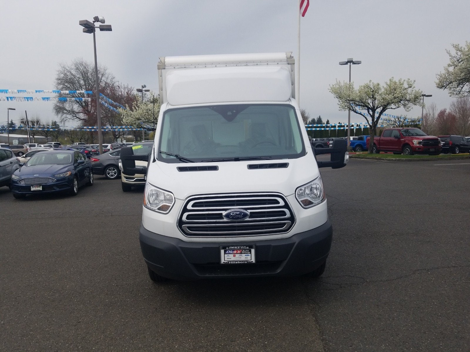 2018 Transit 350 HD DRW 4x2,  Morgan Cutaway Van #288341 - photo 4