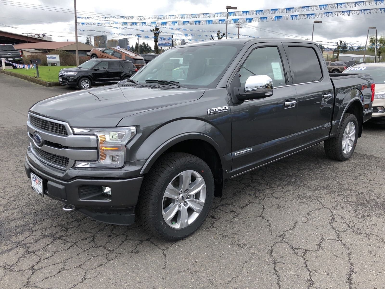 2018 F-150 SuperCrew Cab 4x4,  Pickup #289803 - photo 5
