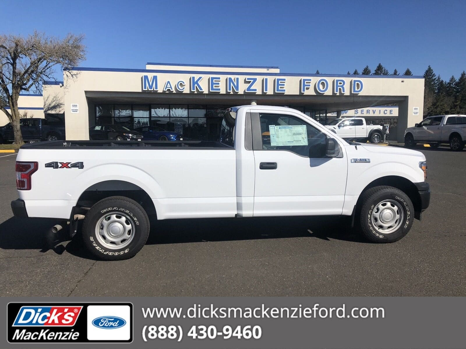 2019 F-150 Regular Cab 4x4,  Pickup #299593T - photo 1