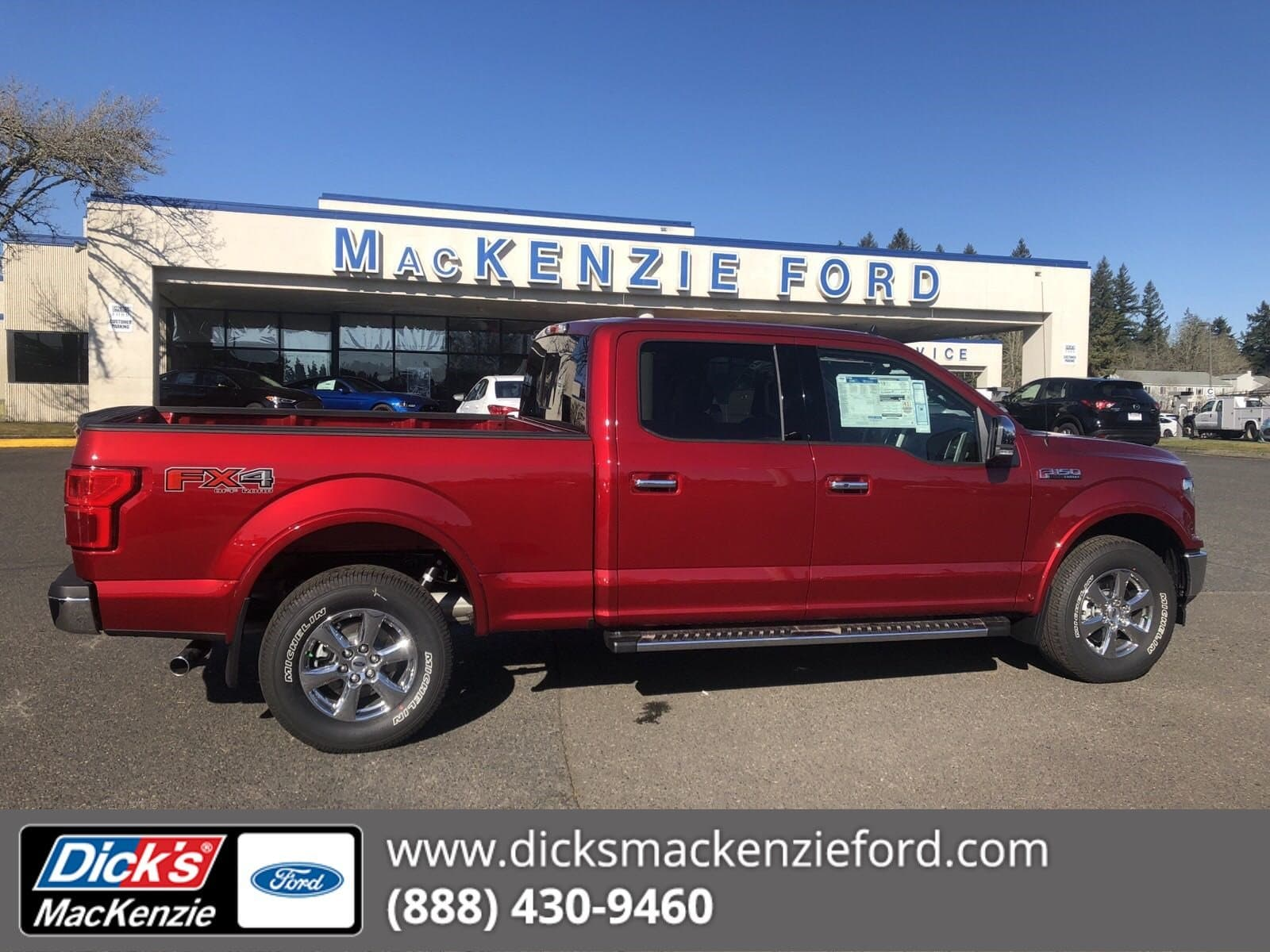 2019 F-150 SuperCrew Cab 4x4,  Pickup #299618T - photo 1