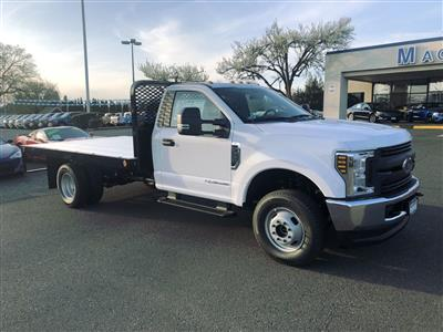 2019 F-350 Regular Cab DRW 4x4,  Scelzi WFB Platform Body #299649 - photo 5