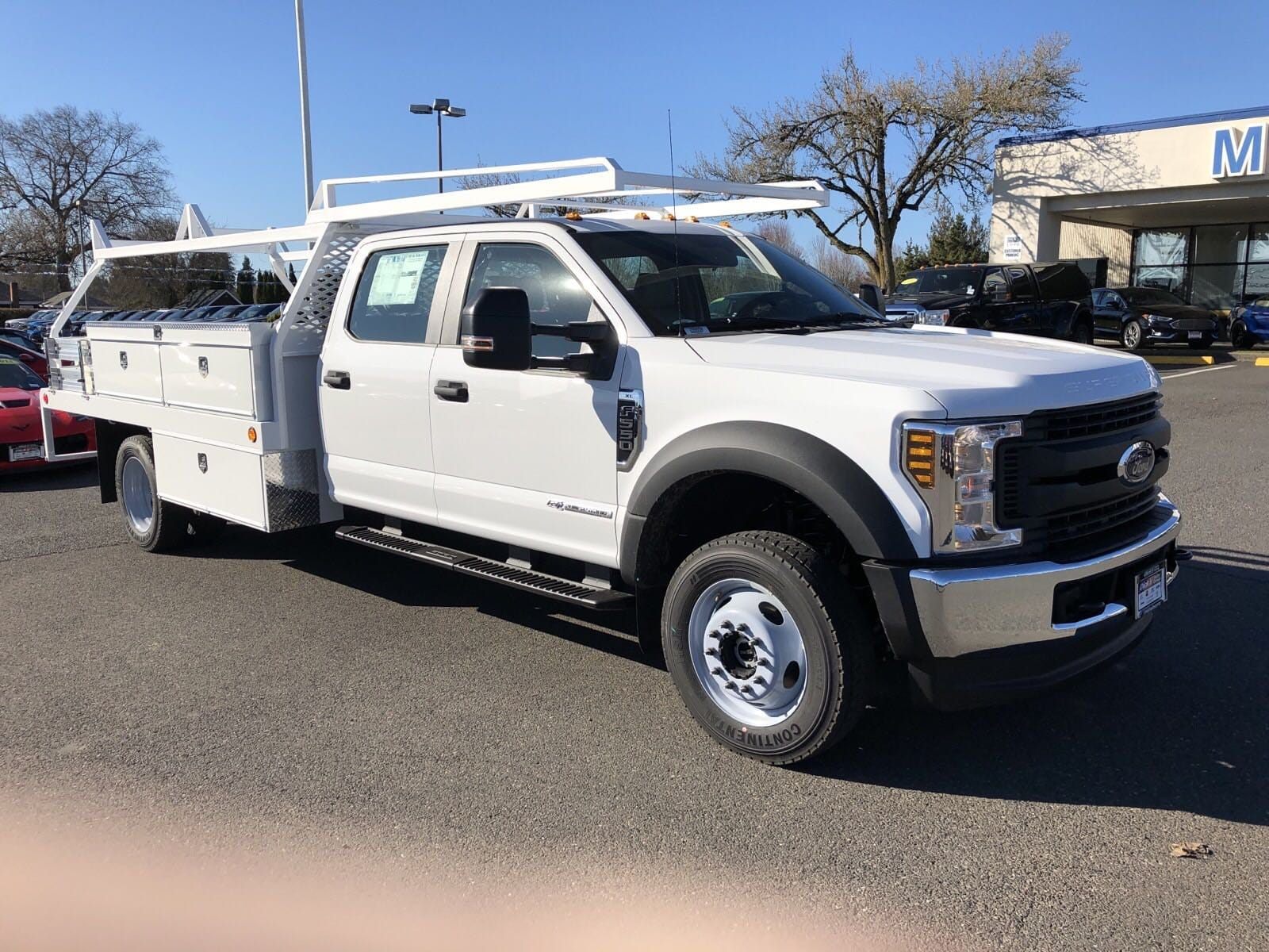 2019 F-550 Crew Cab DRW 4x4,  Scelzi Contractor Body #299650 - photo 2