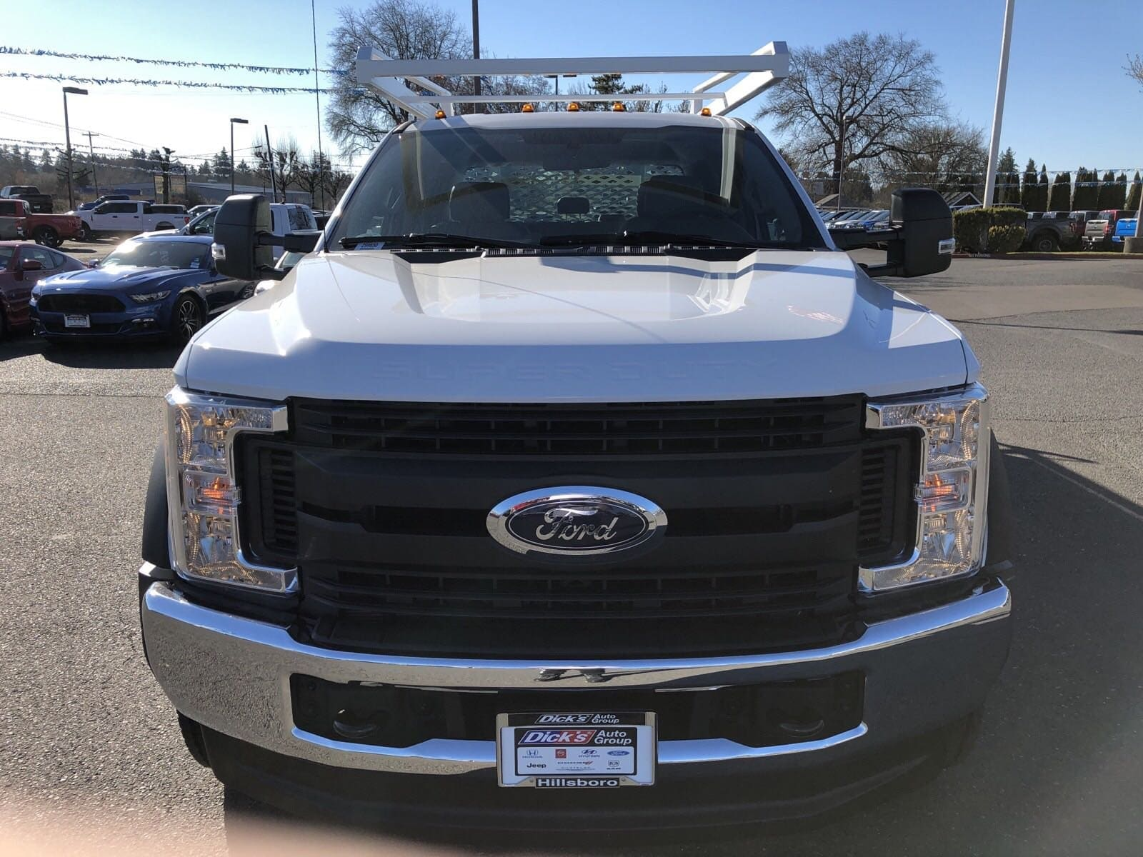 2019 F-550 Crew Cab DRW 4x4,  Scelzi Contractor Body #299650 - photo 3