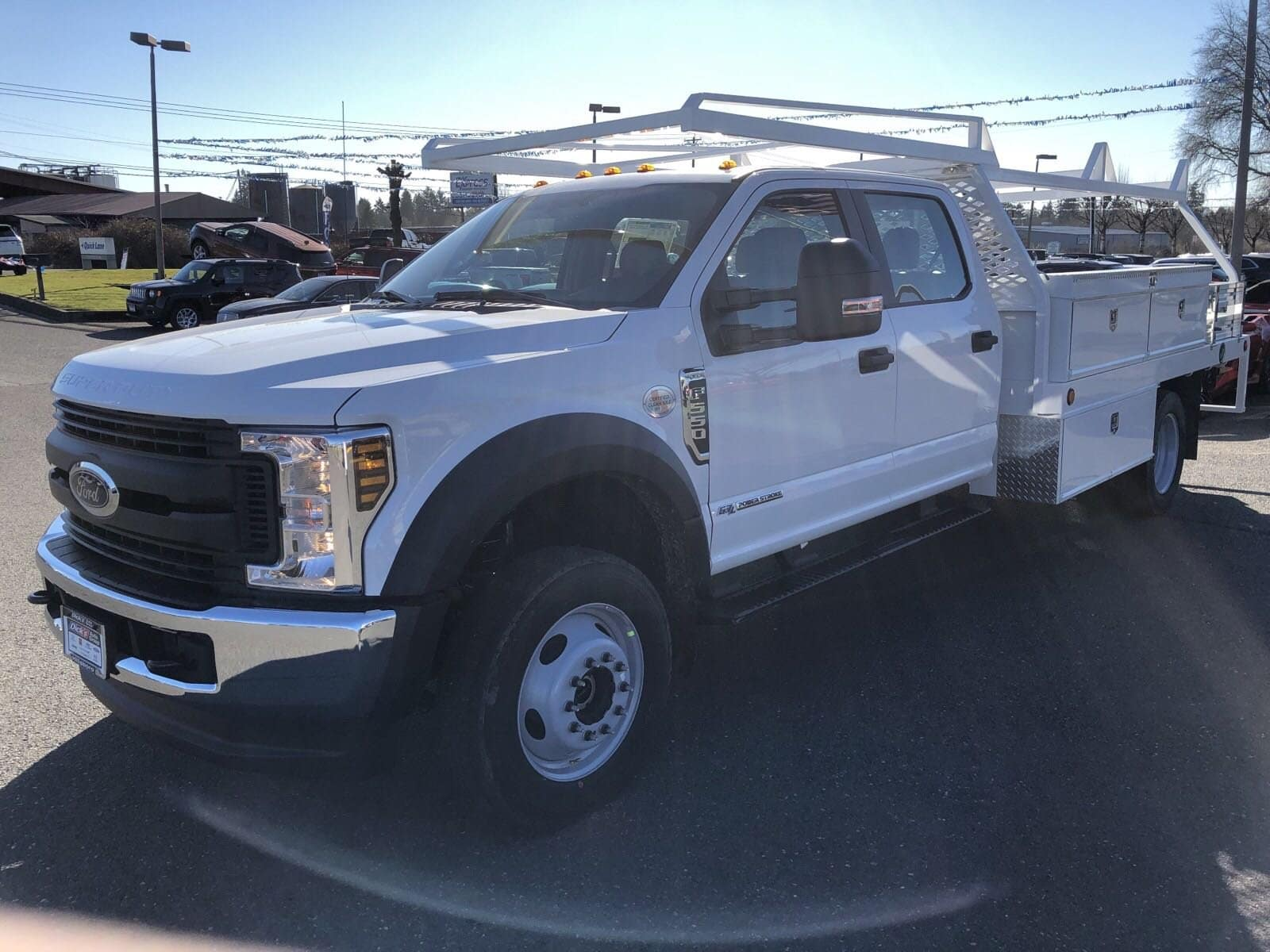 2019 F-550 Crew Cab DRW 4x4,  Scelzi Contractor Body #299650 - photo 4