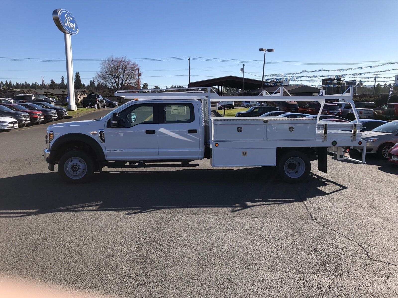 2019 F-550 Crew Cab DRW 4x4,  Scelzi Contractor Body #299650 - photo 5