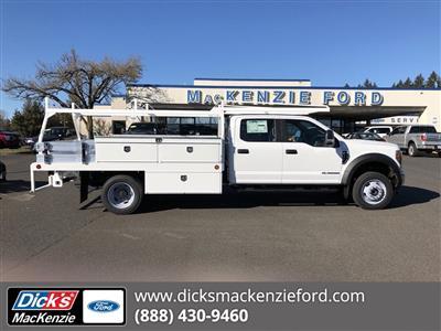 2019 F-550 Crew Cab DRW 4x4,  Scelzi CTFB Contractor Body #299650 - photo 1