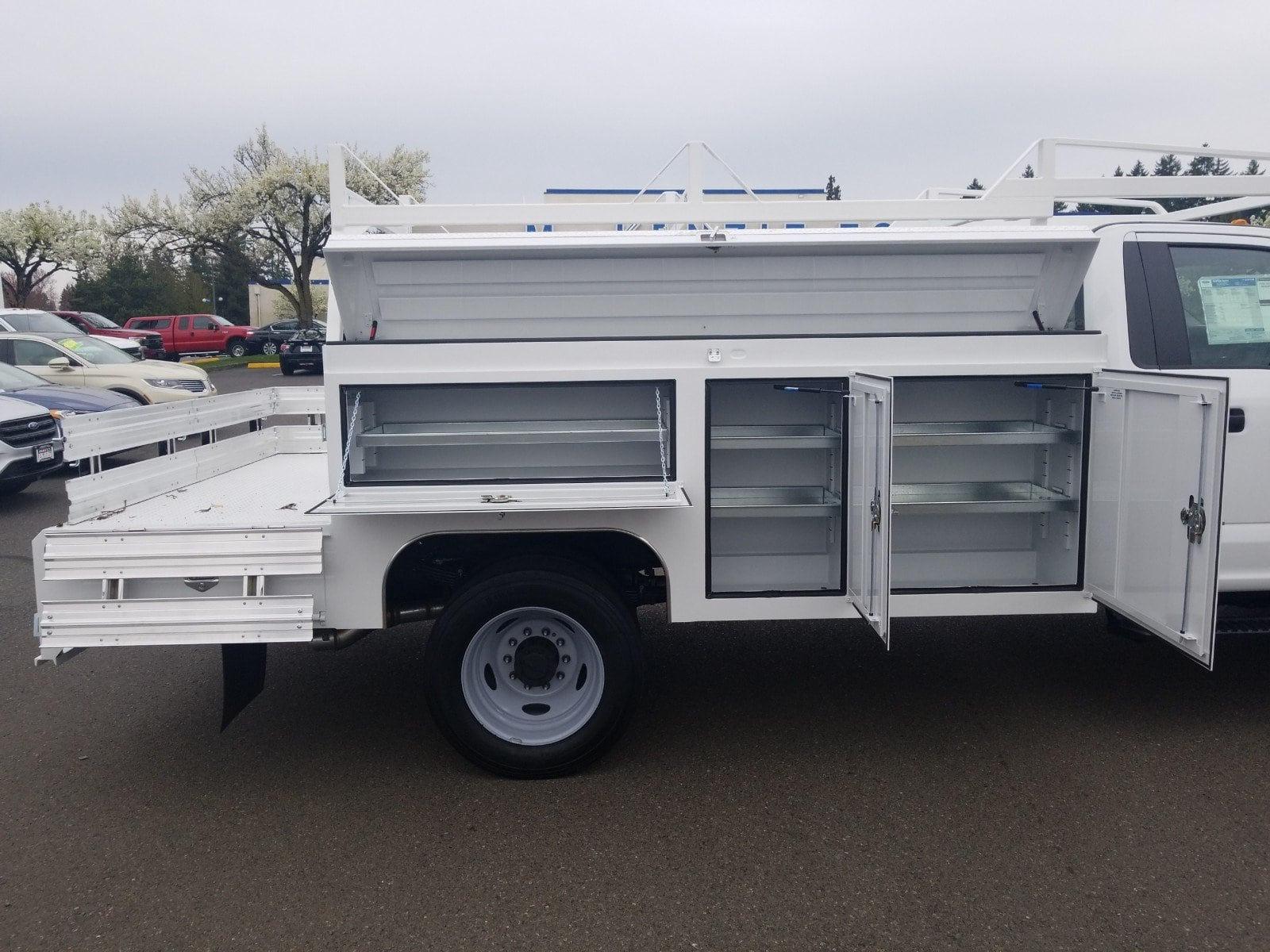 2019 F-550 Regular Cab DRW 4x2,  Scelzi Combo Body #299675 - photo 2