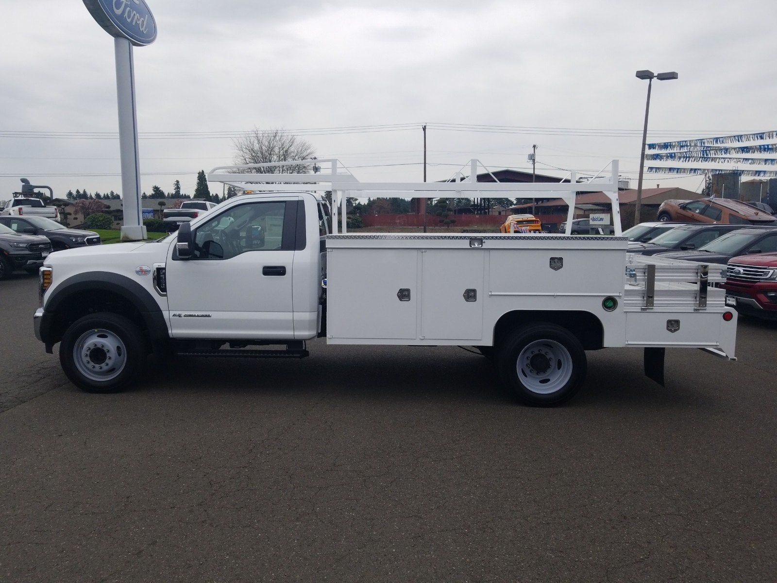 2019 F-550 Regular Cab DRW 4x2,  Scelzi Combo Body #299675 - photo 5