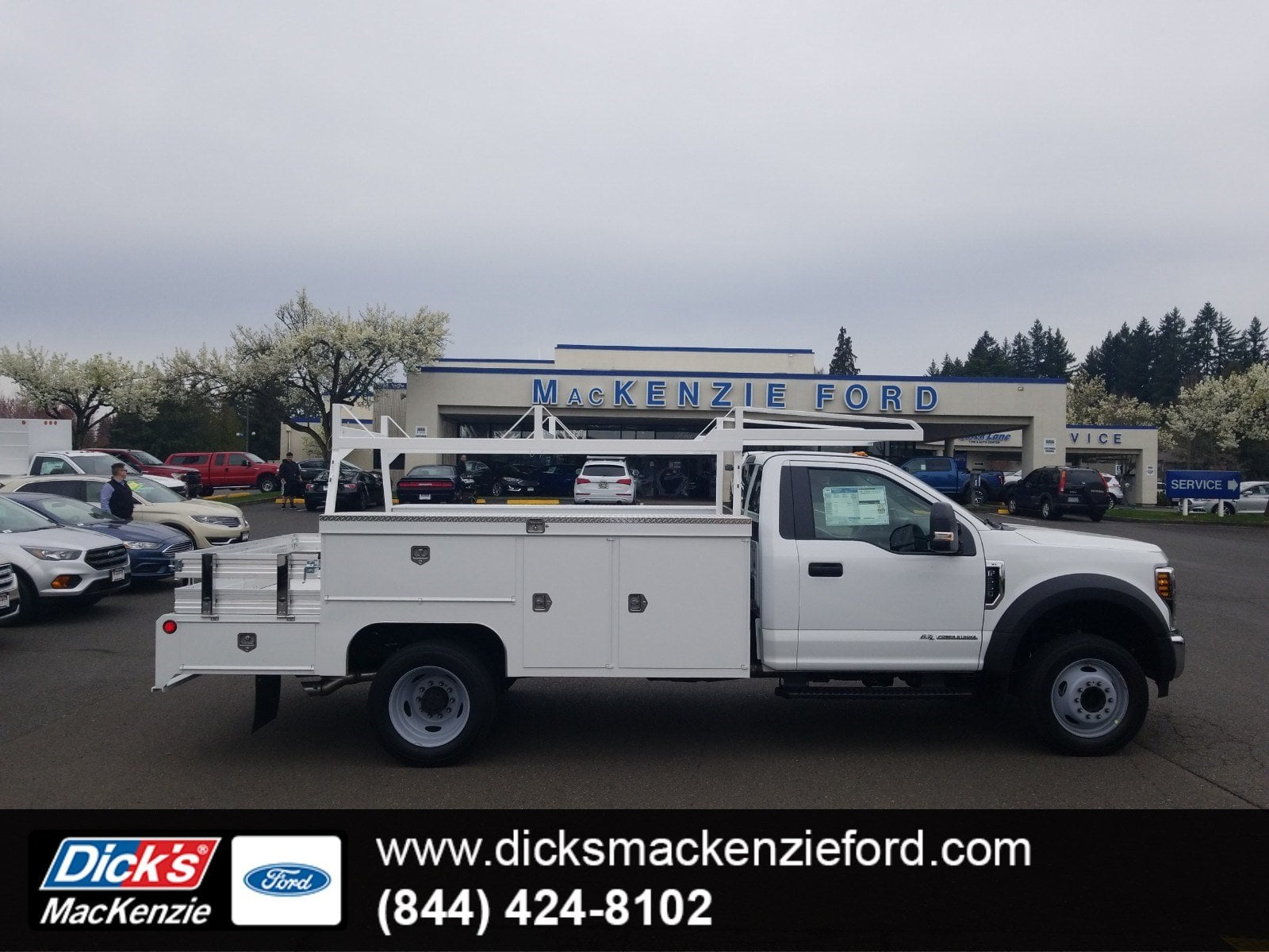 2019 F-550 Regular Cab DRW 4x2,  Scelzi Combo Body #299675 - photo 1