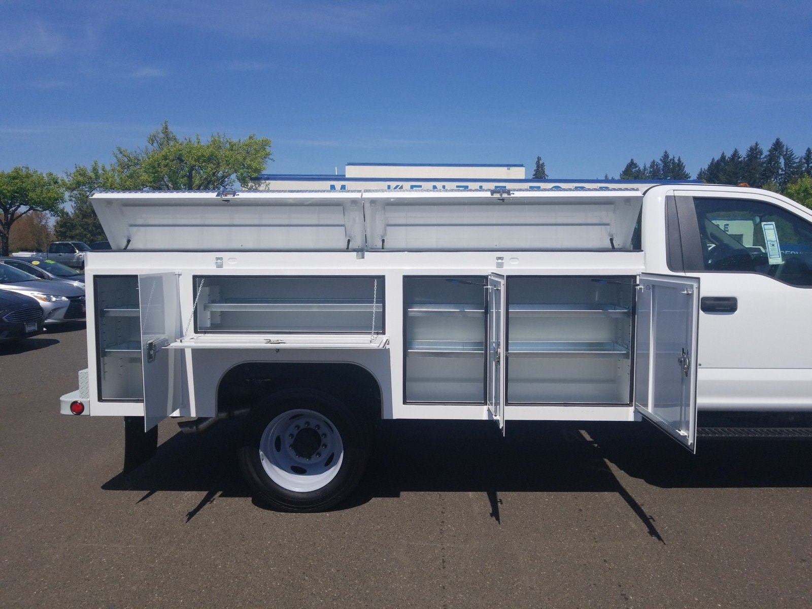 2019 F-450 Regular Cab DRW 4x2,  Scelzi Service Body #299683 - photo 2