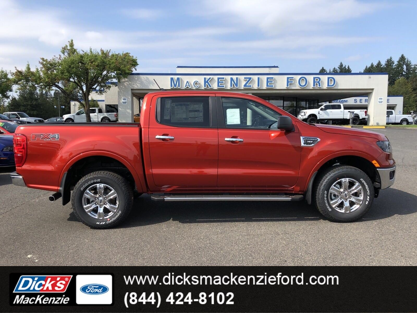 2019 Ranger SuperCrew Cab 4x4, Pickup #299709 - photo 1