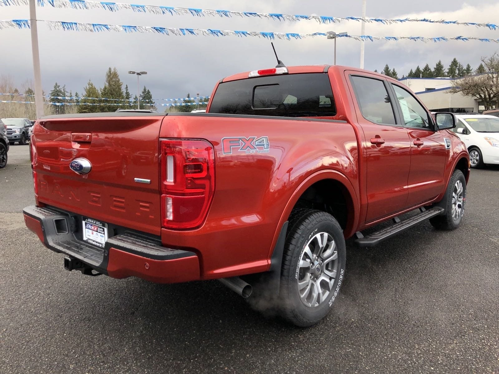 2019 Ranger SuperCrew Cab 4x4, Pickup #299840 - photo 2