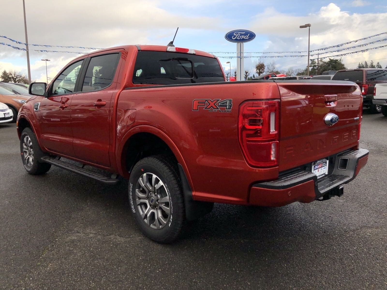 2019 Ranger SuperCrew Cab 4x4, Pickup #299840 - photo 3