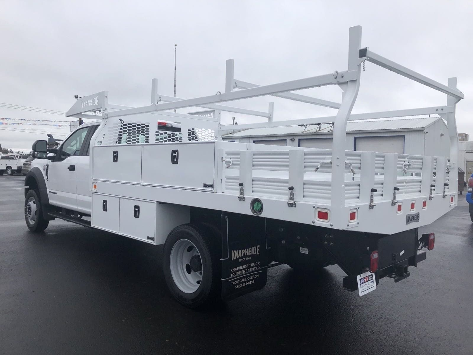 2019 F-550 Super Cab DRW 4x4, Knapheide Contractor Body #299961 - photo 1