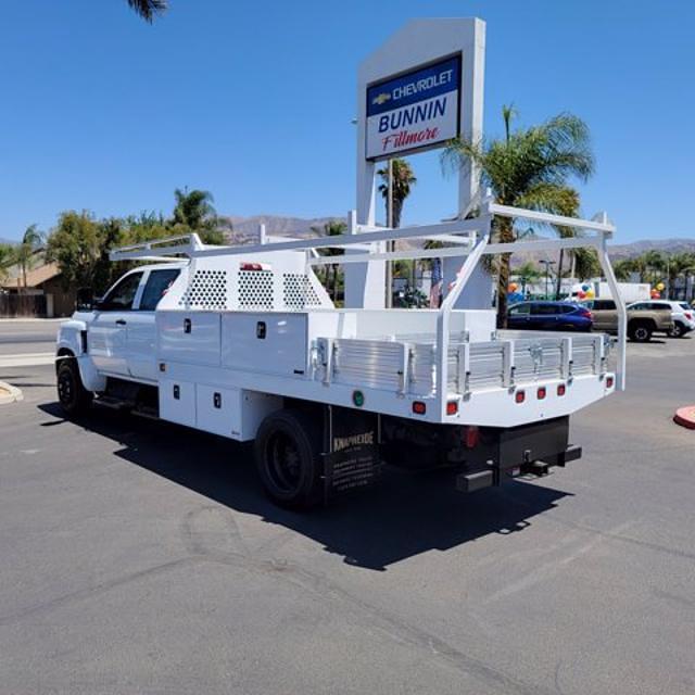 2021 Silverado Medium Duty Crew Cab DRW 4x2,  Knapheide Contractor Body #21420 - photo 2