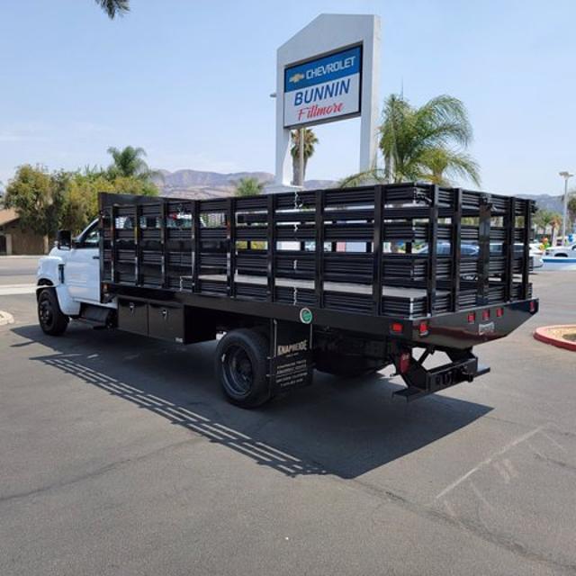 2021 Chevrolet Silverado Medium Duty Regular Cab DRW 4x2, Knapheide Stake Bed #21431 - photo 1