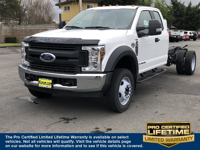 2019 Ford F-550 Super Cab DRW 4x2, Cab Chassis #19F1333 - photo 1