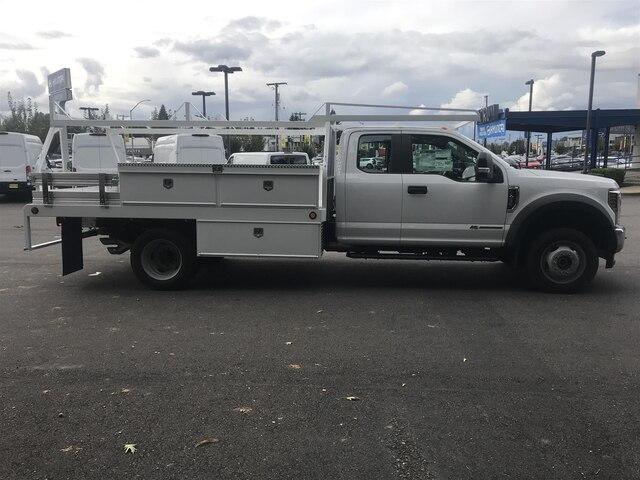 2019 F-450 Super Cab DRW 4x4, Scelzi CTFB Contractor Body #19F661 - photo 7