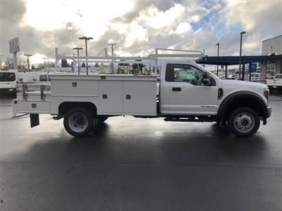 2019 F-450 Regular Cab DRW 4x4, Scelzi CTFB Contractor Body #19F1328 - photo 6