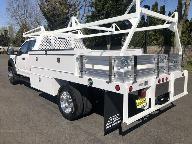 2020 Ford F-450 Super Cab DRW 4x2, Scelzi Contractor Body #20F349 - photo 1