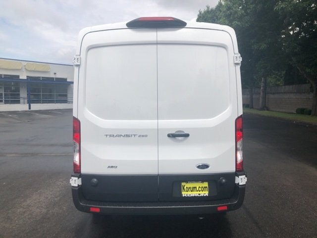 2020 Ford Transit 250 Med Roof AWD, Empty Cargo Van #20F376 - photo 5