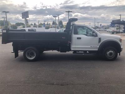 2020 Ford F-550 Regular Cab DRW 4x4, Rugby Eliminator LP Steel Dump Body #20F420 - photo 8