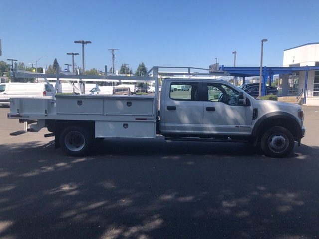2020 Ford F-450 Crew Cab DRW 4x4, Harbor Standard Contractor Body #20F654 - photo 7