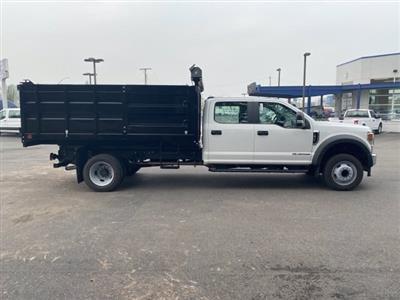 2020 Ford F-450 Crew Cab DRW RWD, Landscape Dump #20F699 - photo 7