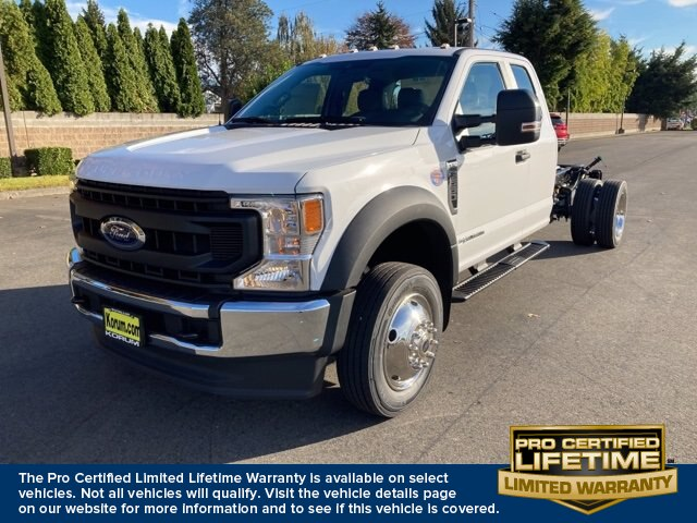 2020 Ford F-550 Super Cab DRW 4x4, Cab Chassis #20F800 - photo 1