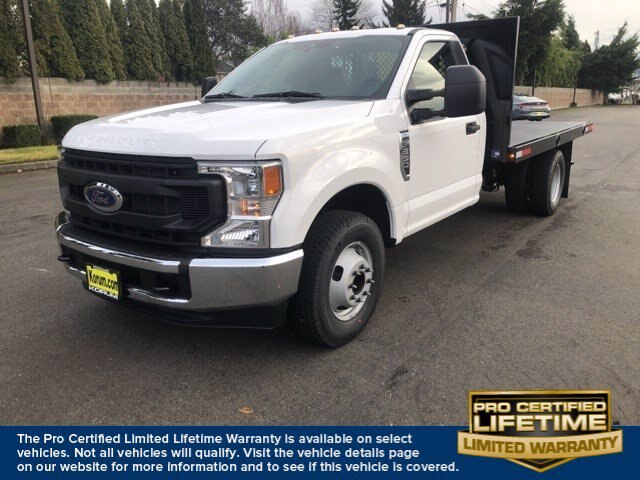 2021 Ford F-350 Regular Cab DRW 4x2, Platform Body #21F122 - photo 1