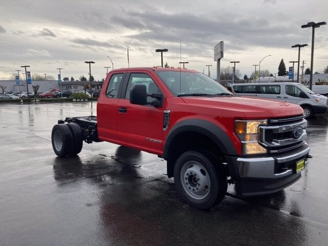 2021 Ford F-550 Super Cab DRW 4x4, Cab Chassis #21F90 - photo 8