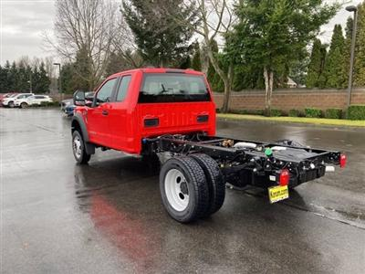 2021 Ford F-550 Super Cab DRW 4x4, Cab Chassis #21F90 - photo 2
