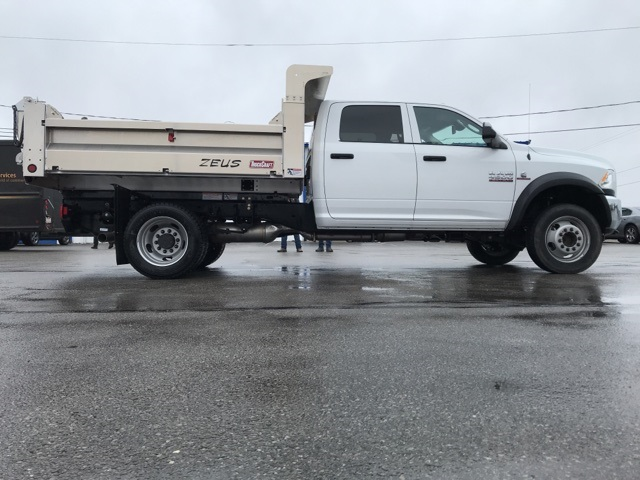 2017 Ram 4500 Crew Cab DRW 4x4,  Truck Craft Dump Body #N50356 - photo 5
