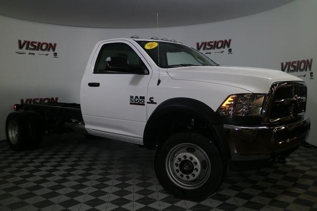 2017 Ram 5500 Regular Cab DRW 4x4, Tafco Stake Bed #N73164 - photo 9