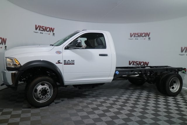 2017 Ram 5500 Regular Cab DRW 4x4, Tafco Stake Bed #N73164 - photo 11