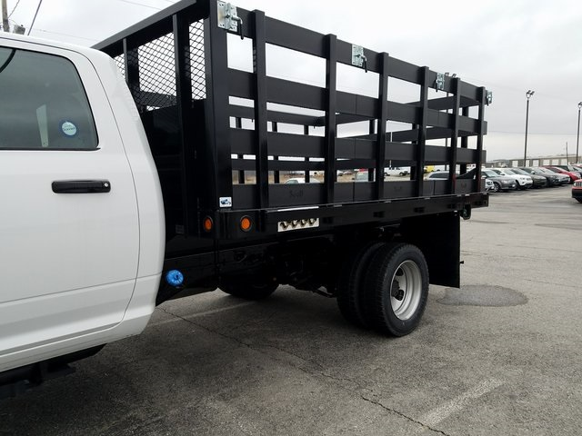 2017 Ram 5500 Regular Cab DRW 4x4, Tafco Stake Bed #N73164 - photo 4