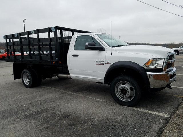 2017 Ram 5500 Regular Cab DRW 4x4,  Tafco Stake Bed #N73164 - photo 3