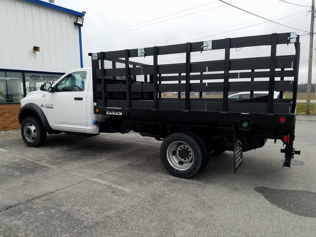 2017 Ram 5500 Regular Cab DRW 4x4,  Tafco Stake Bed #N73164 - photo 2