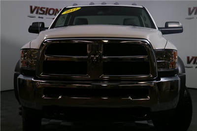 2017 Ram 5500 Regular Cab DRW 4x4, Tafco Stake Bed #N73164 - photo 10