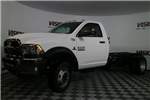 2017 Ram 5500 Regular Cab DRW 4x4, Tafco Stake Bed #N73164 - photo 1