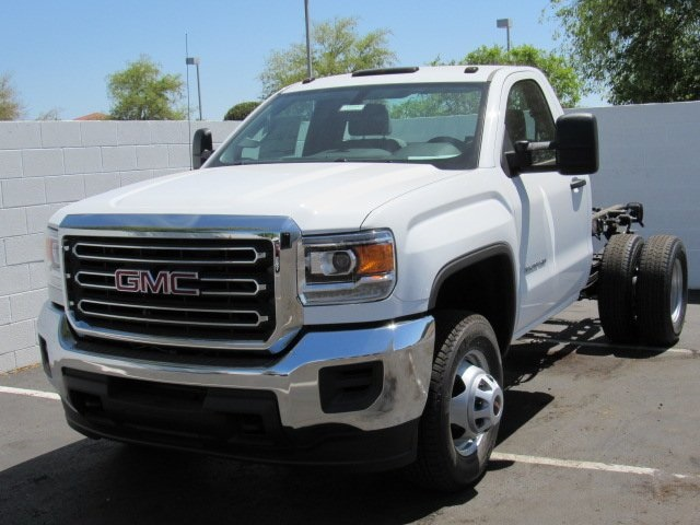 2018 Sierra 3500 Regular Cab, Cab Chassis #18396 - photo 4