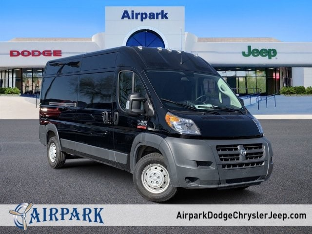 2018 ProMaster 2500 High Roof FWD,  Empty Cargo Van #JE158441 - photo 1