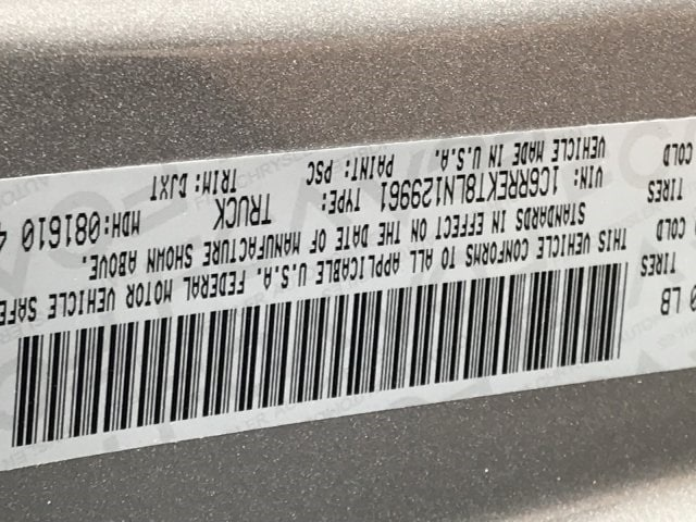 2020 Ram 1500 Crew Cab 4x2, Pickup #LN129961 - photo 22
