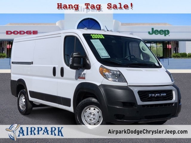 2019 Ram ProMaster 1500 Standard Roof FWD, Empty Cargo Van #P11921 - photo 1